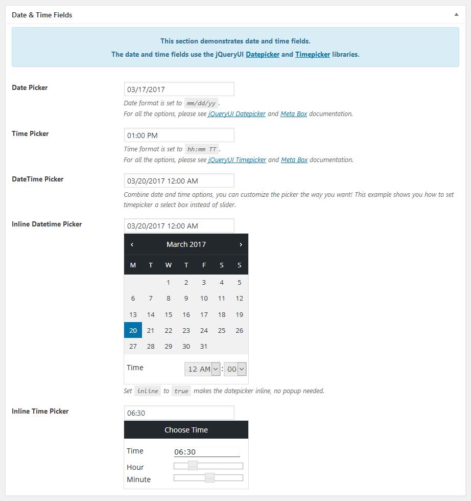 معرفی افزونه meta boxe برای وردپرس